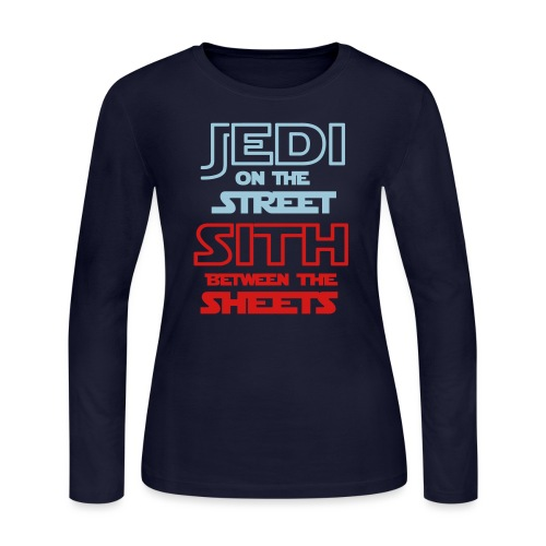 Jedi Sith Awesome Shirt - Women's Long Sleeve Jersey T-Shirt