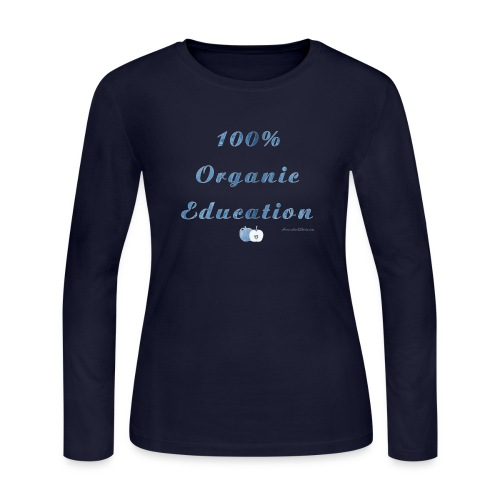 organic png - Women's Long Sleeve Jersey T-Shirt