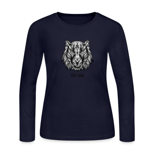 Stay Wild - Women's Long Sleeve Jersey T-Shirt