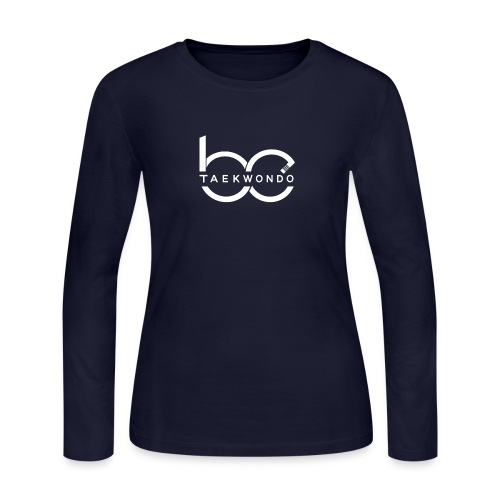 Logo emblem WHITE no bg - Women's Long Sleeve Jersey T-Shirt