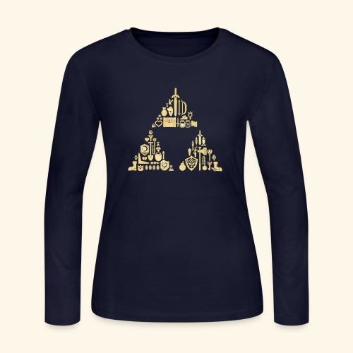 Zelda Triforce - Women's Long Sleeve Jersey T-Shirt