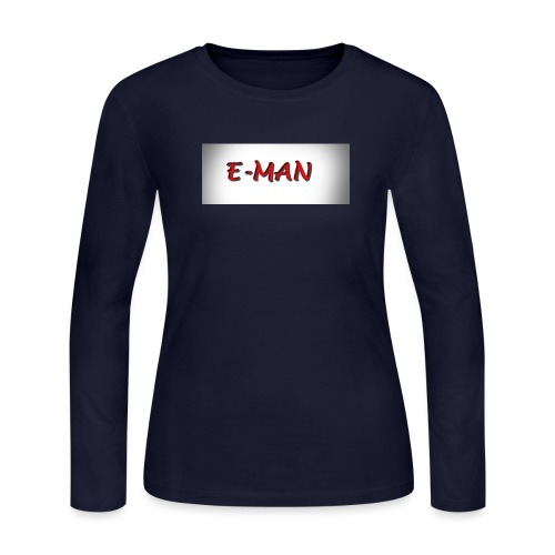 E-MAN - Women's Long Sleeve Jersey T-Shirt