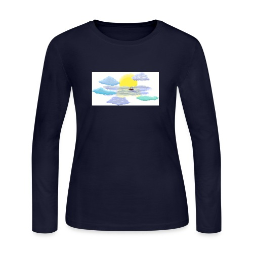 Sea of Clouds - Women's Long Sleeve Jersey T-Shirt