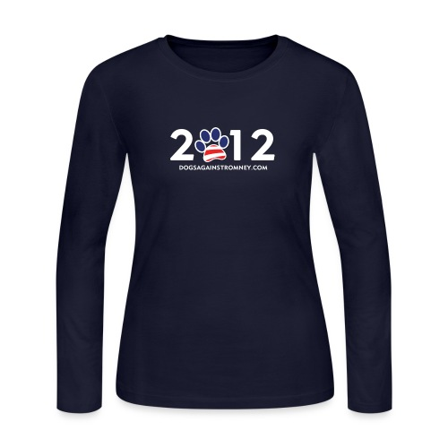 romney2012shirts300dpi - Women's Long Sleeve Jersey T-Shirt