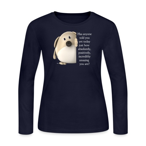 NEW 1001453676 amazing dog shirt fordark ori - Women's Long Sleeve Jersey T-Shirt