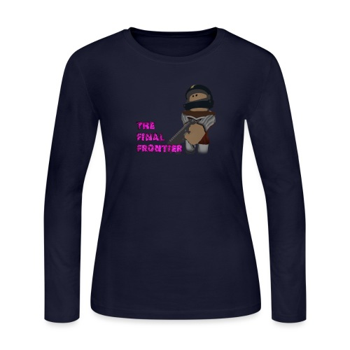 The Final Frontier - Women's Long Sleeve Jersey T-Shirt