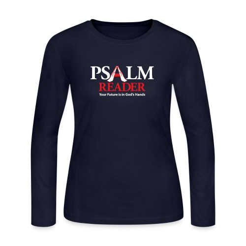 Psalm Reader - Women's Long Sleeve Jersey T-Shirt
