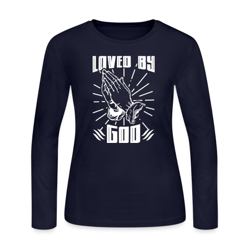 Loved By God - Women's Long Sleeve Jersey T-Shirt