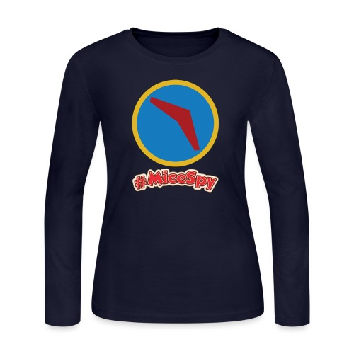 Soarin Explorer Badge - Women's Long Sleeve Jersey T-Shirt