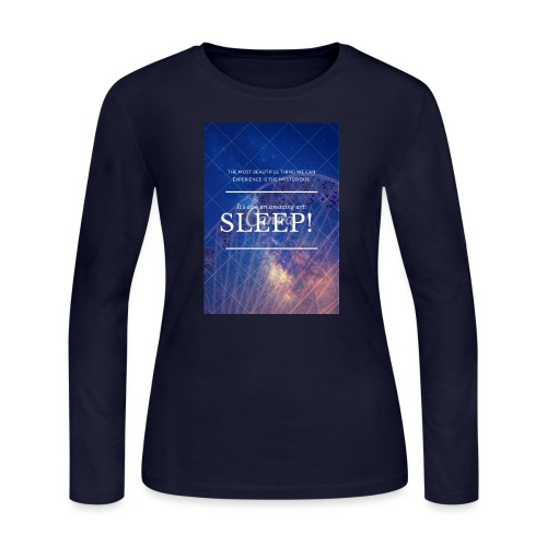Sleep Galaxy by @lovesaccessories - Women's Long Sleeve Jersey T-Shirt