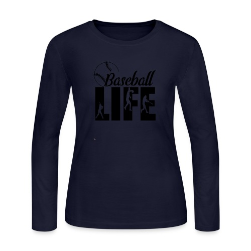 Baseball life - Women's Long Sleeve Jersey T-Shirt