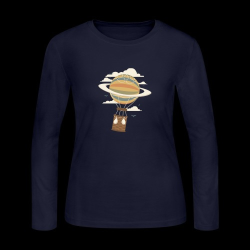Air Baloon Saturn - Women's Long Sleeve Jersey T-Shirt
