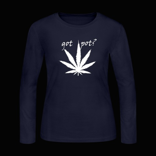 got pot? - Women's Long Sleeve Jersey T-Shirt