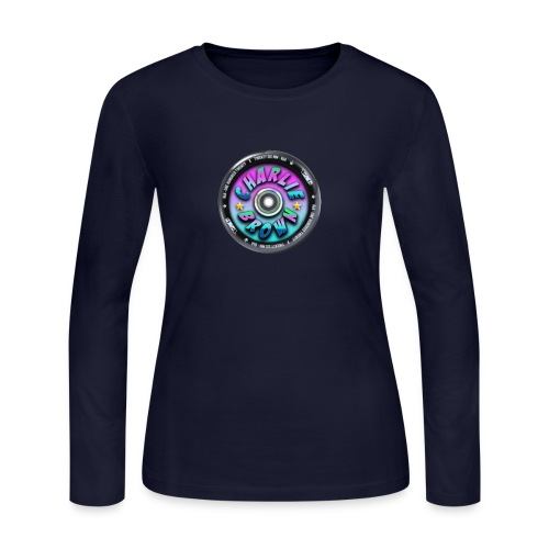 Charlie Brown Logo - Women's Long Sleeve Jersey T-Shirt
