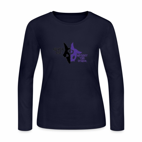 Kindred's design - Women's Long Sleeve Jersey T-Shirt
