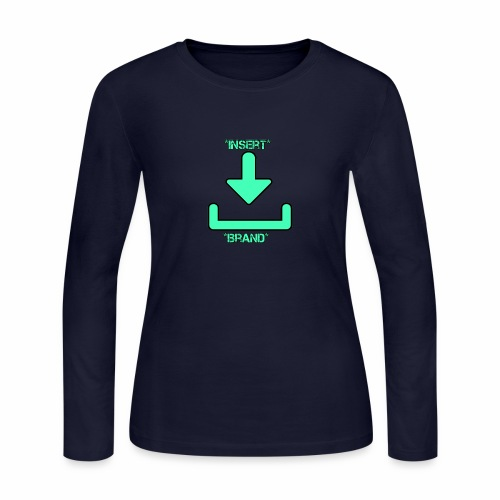 Brandless - Women's Long Sleeve Jersey T-Shirt