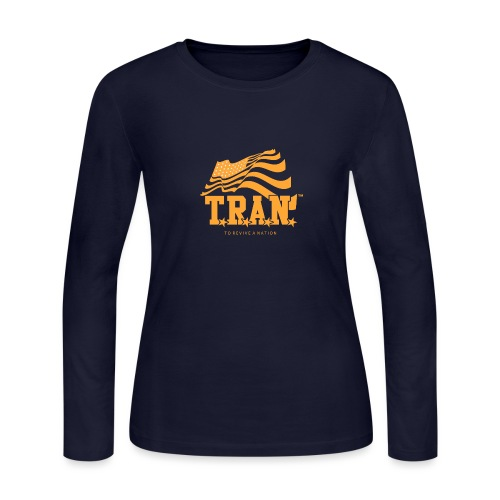 TRAN Gold Club - Women's Long Sleeve Jersey T-Shirt