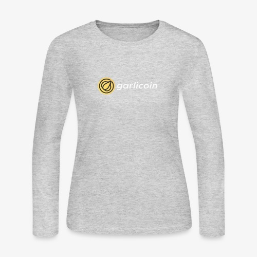 Garlicoin - Women's Long Sleeve Jersey T-Shirt
