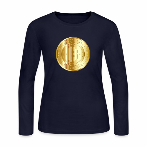 Bitcoin branding 57 - Women's Long Sleeve Jersey T-Shirt