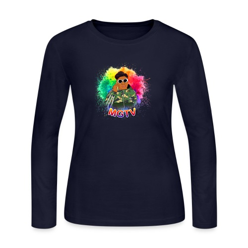 NEW MGTV Clout Shirts - Women's Long Sleeve Jersey T-Shirt
