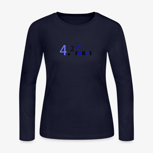 Logo 2 - Women's Long Sleeve Jersey T-Shirt