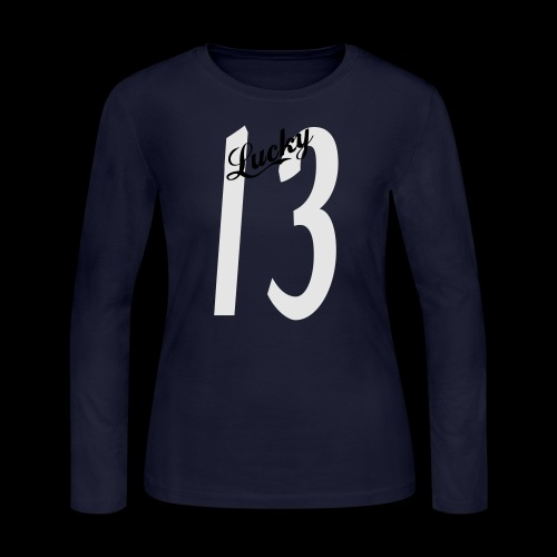 Lucky Thirteen - Women's Long Sleeve Jersey T-Shirt