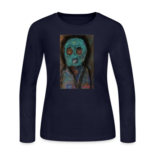 The galactic space monkey - Women's Long Sleeve Jersey T-Shirt