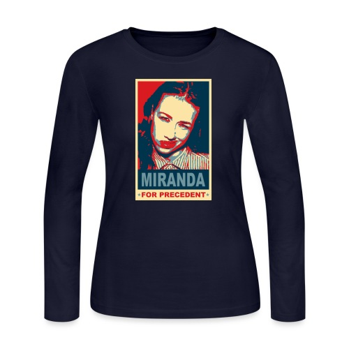 Miranda Sings Miranda For Precedent - Women's Long Sleeve Jersey T-Shirt