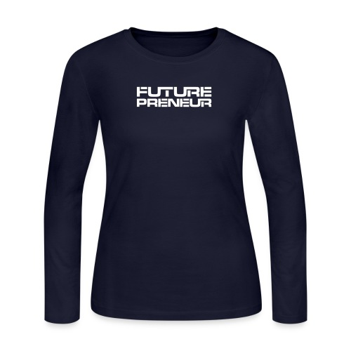 Futurepreneur (1-Color) - Women's Long Sleeve Jersey T-Shirt