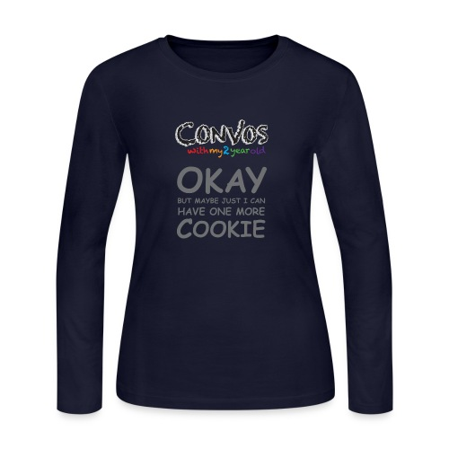 cookie - Women's Long Sleeve Jersey T-Shirt