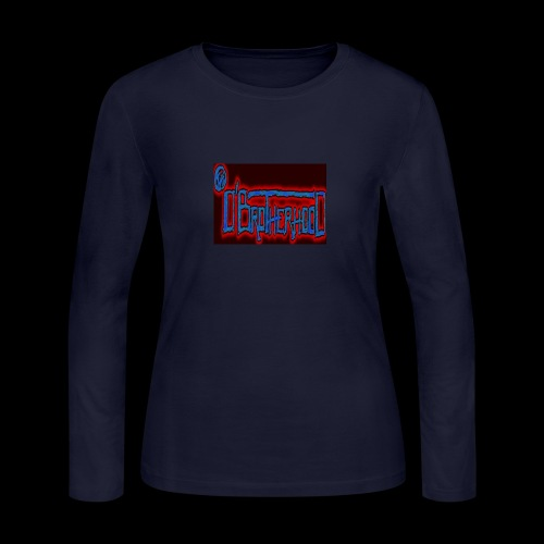 The D'BroTHerHooD Logo - Women's Long Sleeve Jersey T-Shirt