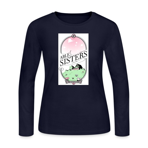 The Able Sisters - Women's Long Sleeve Jersey T-Shirt