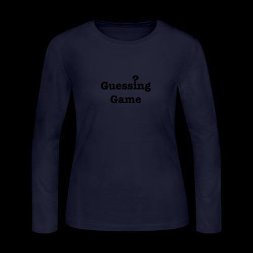 Question - Women's Long Sleeve Jersey T-Shirt