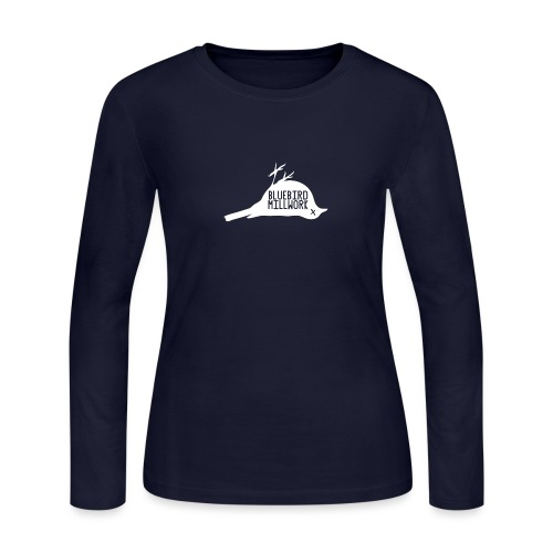 Bluebird Logo - Women's Long Sleeve Jersey T-Shirt