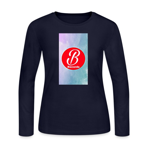 Bursona Records Merch - Women's Long Sleeve Jersey T-Shirt