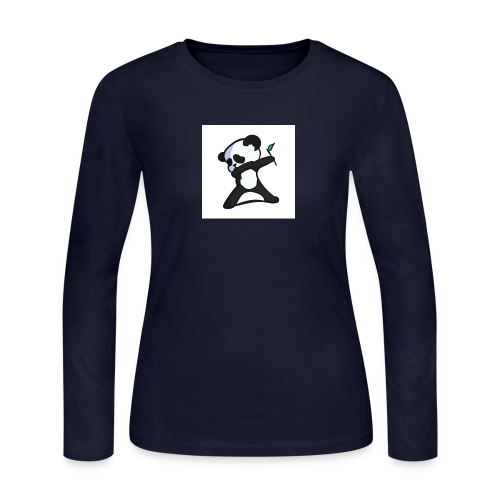 Panda DaB - Women's Long Sleeve Jersey T-Shirt