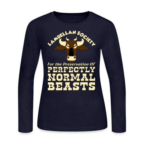 Perfectly Normal Beasts - Women's Long Sleeve Jersey T-Shirt