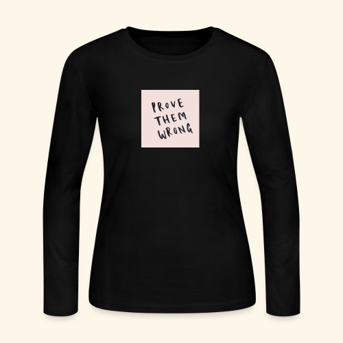 show em what you about - Women's Long Sleeve Jersey T-Shirt