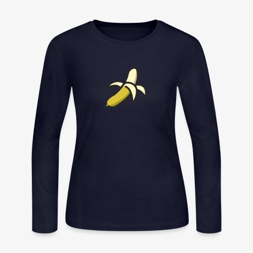 Banana Logo - Women's Long Sleeve Jersey T-Shirt