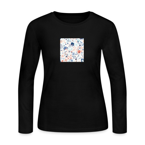 flowers - Women's Long Sleeve Jersey T-Shirt