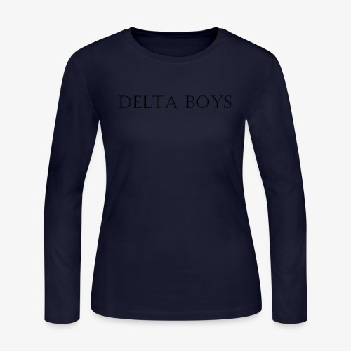 DeltaBoys Stonescript - Women's Long Sleeve Jersey T-Shirt