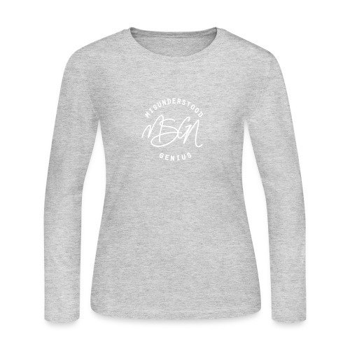 MSGN Logo - Women's Long Sleeve Jersey T-Shirt