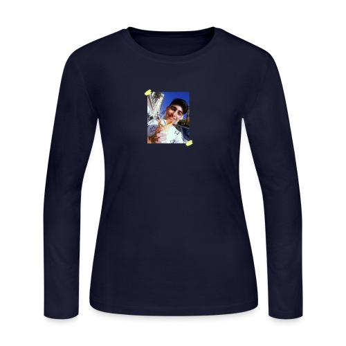WITH PIC - Women's Long Sleeve Jersey T-Shirt