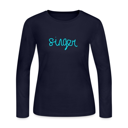 SINGER - Women's Long Sleeve Jersey T-Shirt