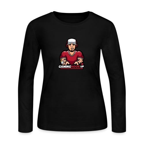 Your One Stop GamingHookup - Women's Long Sleeve Jersey T-Shirt