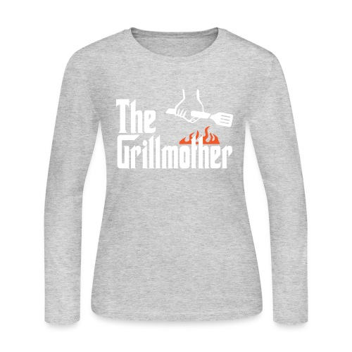 The Grillmother - Women's Long Sleeve Jersey T-Shirt