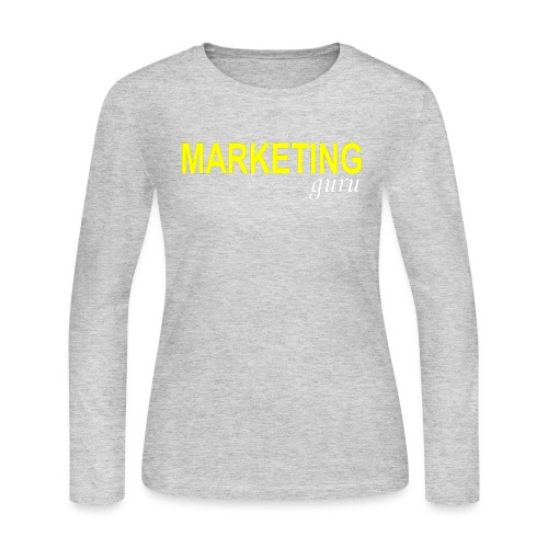 Marketing Guru - Women's Long Sleeve Jersey T-Shirt