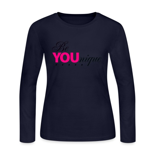 Be Unique Be You Just Be You - Women's Long Sleeve Jersey T-Shirt