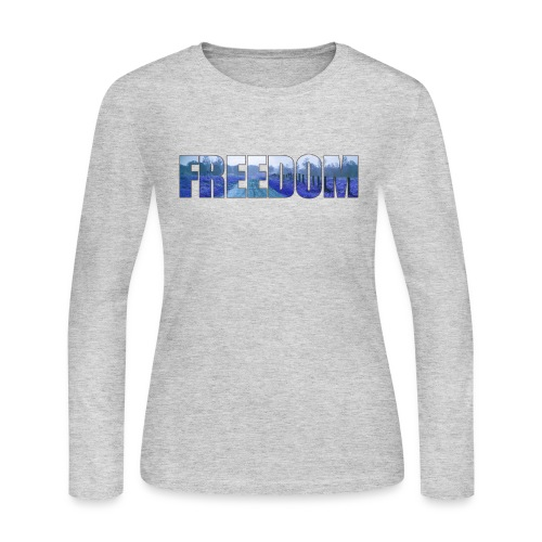 Freedom Photography Style - Women's Long Sleeve Jersey T-Shirt