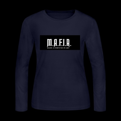Classic Mafia Logo Black - Women's Long Sleeve Jersey T-Shirt